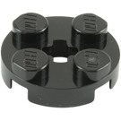LEGO Plate 2 x 2 Round with Axle Hole (with '+' Axle Hole) (4032)