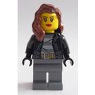 LEGO Black Prisoner Escapee Helper (Female) Minifigure