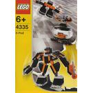 LEGO Black Robot Pod Set 4335