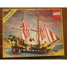 LEGO Black Seas Barracuda Set 6285 Packaging
