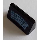 LEGO Black Slope 1 x 2 (31°) with Blue Keyboard Sticker