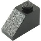 LEGO Black Slope 1 x 2 (45°) (3040)