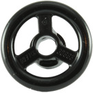 LEGO Black Small Steering Wheel (16091 / 30663)