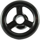 LEGO Black Small Steering Wheel (16091 / 30663)