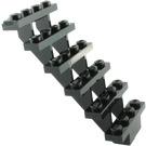 LEGO Black Staircase 7 x 4 x 6 Open (30134)