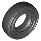 LEGO Black Tire Ø 14mm x 4mm Smooth Old Style (3139)
