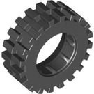 LEGO Black Tire 30 x 10.5 with Ridges Inside (2346)