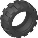 LEGO Black Tire 49.6 x 20 (Balloon 20 x 30) (6581)