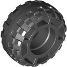 LEGO Black Tire Balloon Wide Ø37 x 18 (56891)