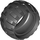 LEGO Black Tire Balloon Wide Ø43 X 26 (61481)