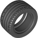 LEGO Black Tire, Low Profile, Wide Ø43.2 X 22 ZR (44309)