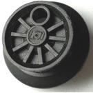 LEGO Black Train Middle Wheel for 12V Motor