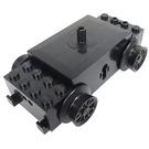 LEGO Black Train Motor, 12V 3 Round Contact Holes