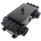 LEGO Black Train Motor, 12V 3 Slotted Contact Holes
