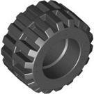 LEGO Tyre Ø21 x 12mm - Offset Tread Small Wide with Band Around Center of Tread (87697)