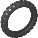 LEGO Black Tyre 81.6 x 15 Motorcycle (2902 / 87911)