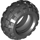 LEGO Black Tyre Balloon Wide Ø56 X 26 (55976)