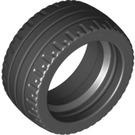 LEGO Black Tyre Low Profile Ø24 x 12 (18977)