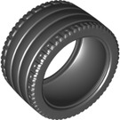 LEGO Black Tyre Low Wide Dia. 81.6 x 44 (23799)