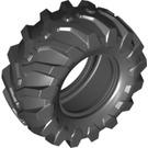 LEGO Black Tyre Tractor Dia. 56 x 26 (70695)