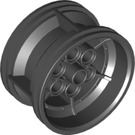 LEGO Black Wheel 43.2mm D. x 26mm Technic Racing Small with 6 Pinholes (56908)