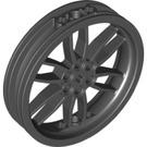 LEGO Black Wheel 75 x 17mm (88517)