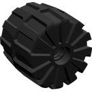 LEGO Black Wheel Hard-Plastic Medium (2593)