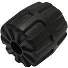 LEGO Black Wheel Hard-Plastic Small (6118)