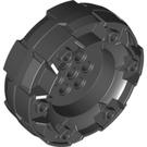 LEGO Black Wheel with Ø3.2 Ø2.3 (11094)