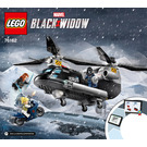 LEGO Black Widow's Helicopter Chase Set 76162 Instructions