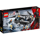 LEGO Black Widow's Helicopter Chase Set 76162 Packaging