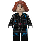 LEGO Black Widow with Short Hair Minifigure