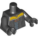 LEGO Black Wild West Wyldstyle Minifig Torso (88585)
