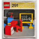 LEGO Blackboard and School Desk Set 291 Instructions