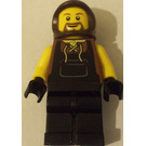LEGO Blacksmith with Beard and Dark Brown Farmer's Cowl Minifigure