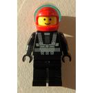 LEGO Blacktron Racer Minifigure