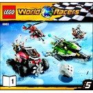 LEGO Blizzard's Peak Set 8863 Instructions
