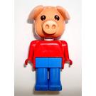 LEGO Blondi Pig Fabuland Minifigure