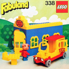 LEGO Blondi the Pig and Taxi Station Set 338-2
