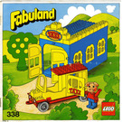 LEGO Blondi the Pig and Taxi Station Set 338-2 Instructions