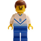 LEGO Blue and White Team Player with Number 11 on Front and Back Minifigure