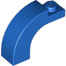 LEGO Blue Arch 1 x 3 x 2 with Curved Top (6005 / 92903)
