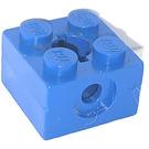 LEGO Bleu Bras Titulaire Brique 2 x 2 avec Trou