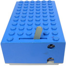 LEGO Blue Battery Box 4.5V 6 x 11 x 3 Type 1 for 1 pin connectors and bottom plugs
