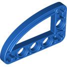 LEGO Blue Beam 3 x 5 x 0.5 Bent 90 Quarter Ellipse (32250 / 65714)