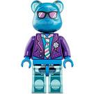 LEGO Blue-Beary Guitarist Minifigure