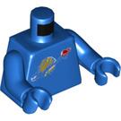 LEGO Blue Benny Minifig Torso (76382)