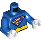 LEGO Blue Bizarro Minifig Torso (76382)