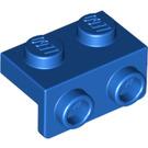 LEGO Blue Bracket 1 x 2 - 1 x 2 (99781)