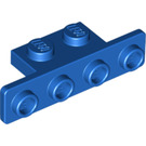 LEGO Blue Bracket 1 x 2 - 1 x 4 with Rounded Corners (2436 / 10201)
